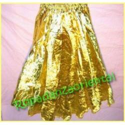 Falda Lamé dorado