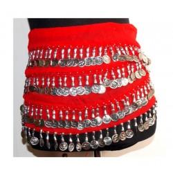Pañuelos danza Nilo Rojo