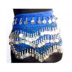 Pañuelos danza del vientre Nilo Azul
