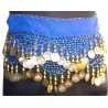 Pañuelos danza Siwa Azul
