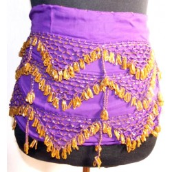 Cinturones danza del vientre Luxor Lila