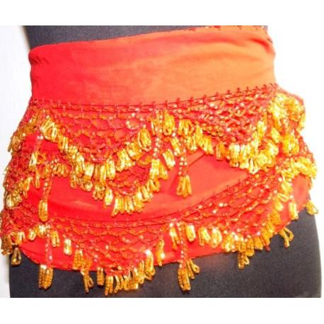 Cinturones danza arabe Luxor Negro