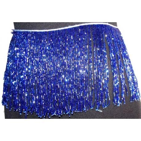 Flecos de pedreria de cristal 20cm lila