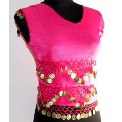 Top danza oriental Nilo Rosa