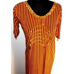 Vestidos danza del vientre balady naranja