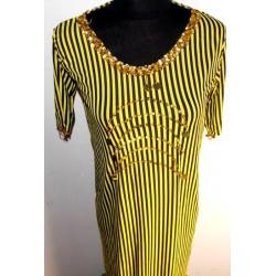 Vestidos danza del vientre balady amarillo