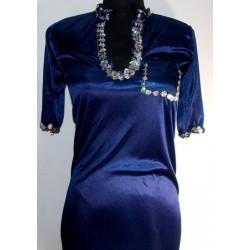 Vestidos danza árabe Shapi azul