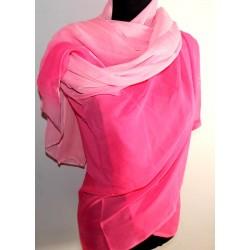 Velo danza del vientre degrade rosa